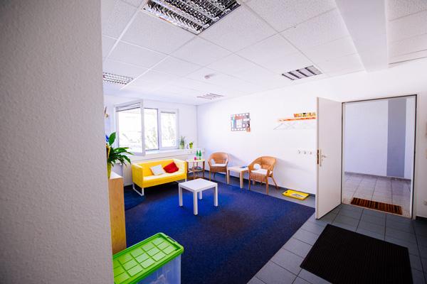 Bild von einem Therapieraum des autismuszentrum essen im Ruhrgebiet.